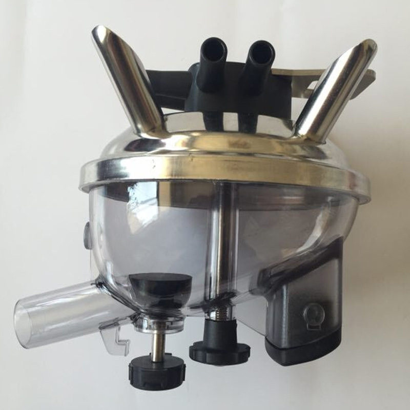 380CC orbit milk claw with stainless steel base