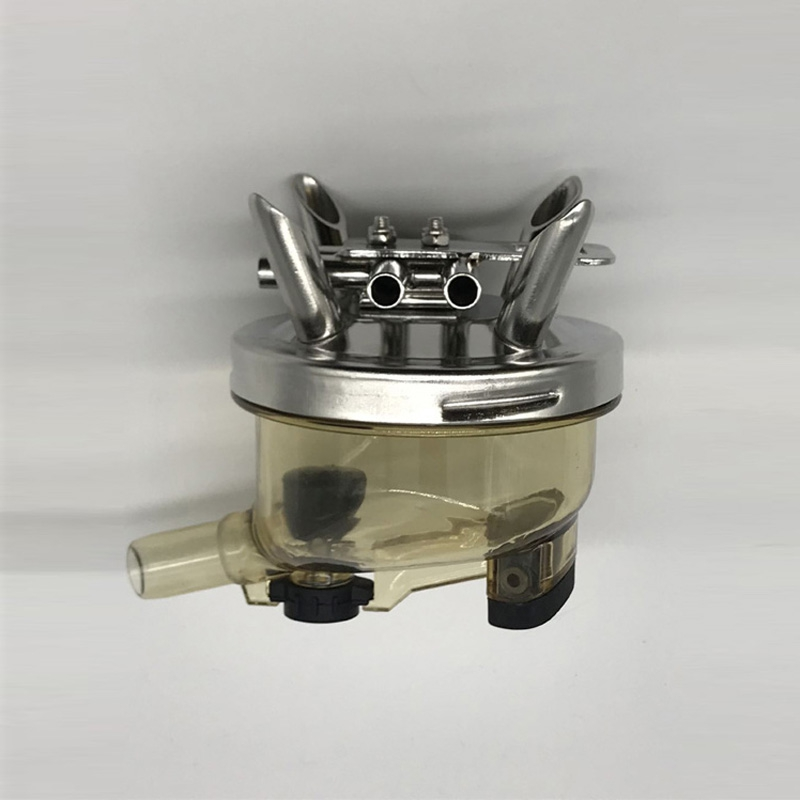 400CC milk claw with stainless steel base