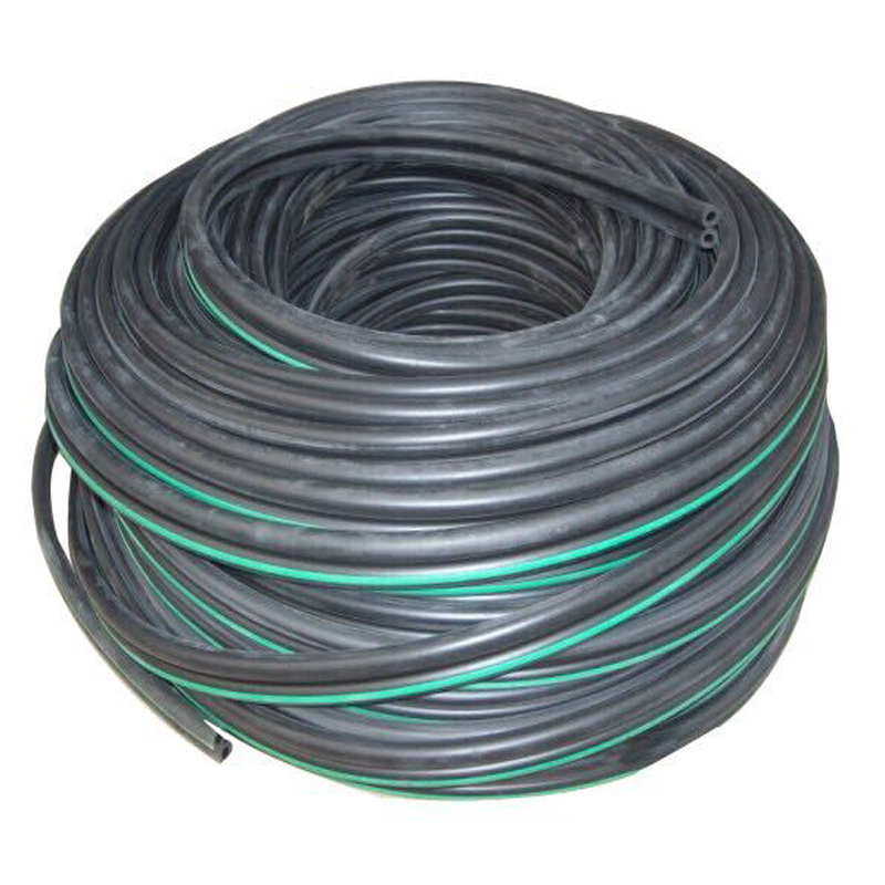 Food grade rubber twin pulse hose for milking machines