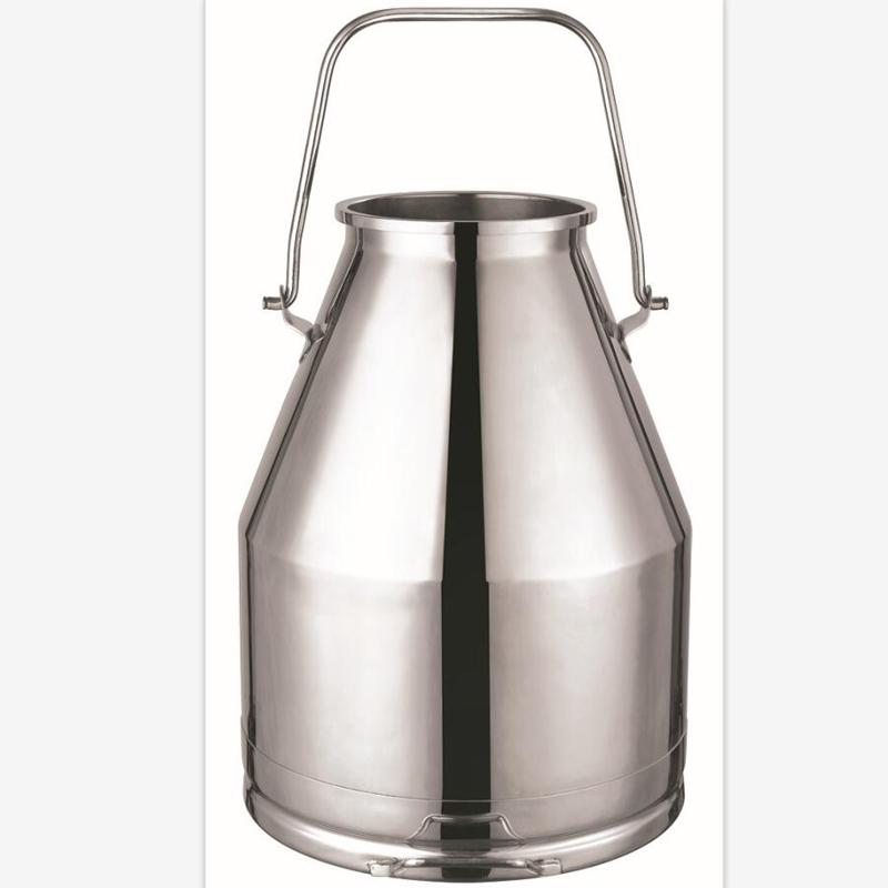 30L stainless steel milking bucket