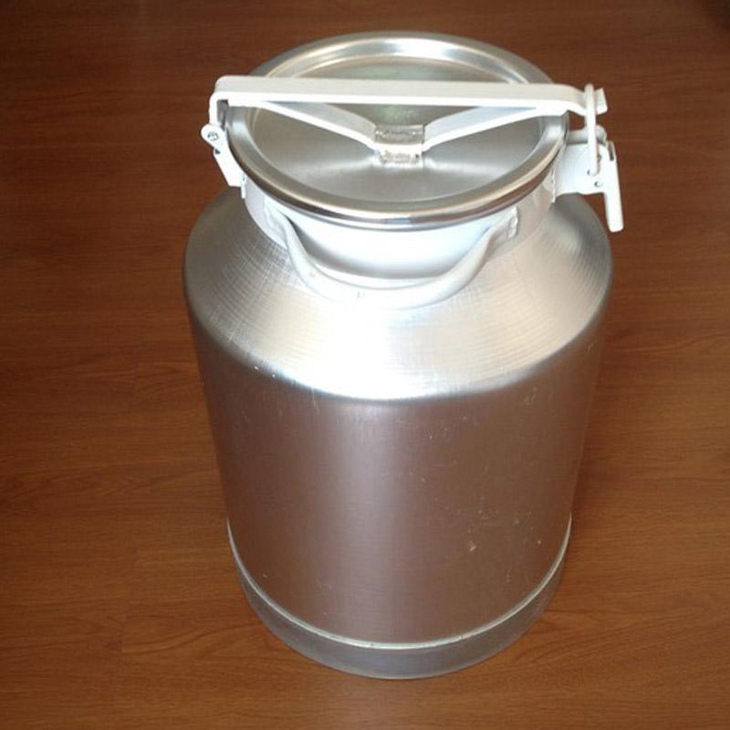 Milk transportation can made of Aluminum