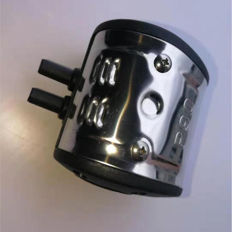 P90 milking pulsator with 2 exit